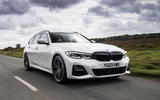 BMW 3 Series Touring 330d 2019 UK first drive review - hero front
