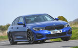 BMW 3 Series 320d 2019 UK first drive review - hero front