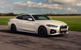 BMW 4 Series 420d 2020 UK first drive review - hero front