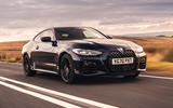 BMW 420i Coupe 2020 UK first drive review - hero front
