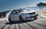 BMW M2 Competition 2018 first drive review hero front