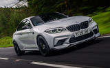 BMW M2 CS 2020 UK first drive review - hero front