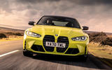 1 BMW M4 2021 UK first drive review hero nose