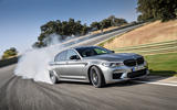 BMW M5 Competition 2018 first drive review hero front