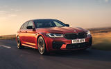 BMW M5 Competition 2020 UK first drive review - hero front