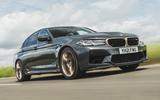 1 BMW M5 CS 2021 UK FD hero front