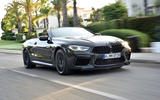 BMW M8 Competition Convertible 2019 first drive review - hero front