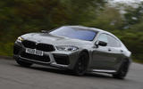 BMW M8 Gran Coupe 2020 UK first drive review - hero front