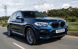 BMW X3 xDrive30e 2020 UK first drive review - hero front