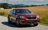 BMW X4 2018 first drive review hero front