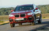 BMW X4 2018 UK first drive review hero front