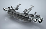 Chevrolet 'cold end' exhaust