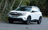 Citroen C5 Aircross Hybrid 2020 UK first drive review - hero front