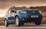 1 Dacia Duster diesel 4x4 2021 UK first drive review hero front
