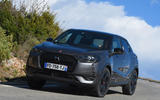 DS 3 Crossback 2019 first drive review - hero front