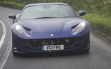 Ferrari 812 GTS 2020 UK first drive review - hero front