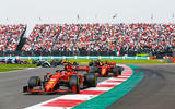 Ferrari F1 cars