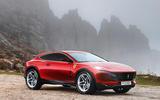Ferrari SUV render - static front