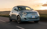 1 fiat 500 electric 2021 lhd uk fd hero front