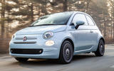 Fiat 500 Hybrid 2020 first drive review - hero front