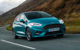 Ford Fiesta EcoBoost mHEV 2020 UK first drive review - hero front