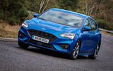 Ford Focus ST-Line 182PS 2018 UK first drive review - hero front