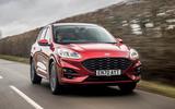 1 Ford Kuga FHEV 2021 UK FD hero front