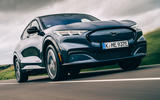 Ford Mustang Mach E 2021 UK first drive review -  hero front