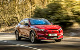 1 Ford Mustang Mach E 2021 UK first drive review hero front