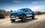 Ford Ranger Raptor 2019 first drive review - hero front