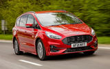 1 Ford S Max Hybrid 2021 UK FD hero front