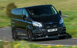 Ford Transit MS-RT custom review hero front