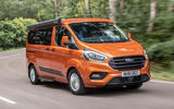 1 Ford Transit Nugget 2021 UK FD hero front