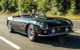 1 GTO California Spyder revival 2021 UK FD hero front