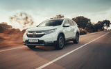 Honda CR-V hybrid 2019 first drive review - hero front