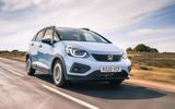 Honda Jazz Crosstar 2020 UK first drive review - hero front