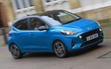 Hyundai i10 2020 UK first drive review - hero front