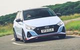 1 Hyundai i20N 2021 RHD UK FD hero front