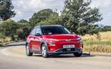 Hyundai Kona electric 2018 - tracking front