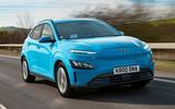 1 hyundai kona electric 2021 uk first drive review hero front