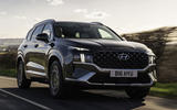1 Hyundai Santa fe 2021 UK first drive review hero front
