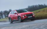 1 Hyundai Tucson MHEV 2021 uk first drive review hero front
