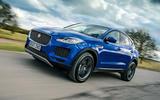 1 jaguar e pace review hero front