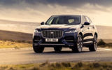 1 Jaguar F Pace P400e 2021 uk first drive review hero front