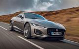 Jaguar F-Type 2020 UK first drive review - hero front