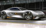 Jaguar F-Type render - static side