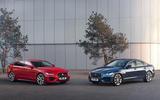 Jaguar XE and XF