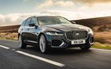 1 Jaguar XF Sportbrake 2021 UK first drive review hero front