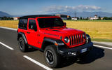 Jeep Wrangler Rubicon 2dr 2018 first drive review hero front