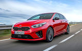 Kia Ceed GT 2019 first drive review - hero front